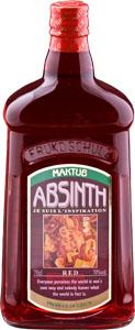 Абсент «МАКТУБ» Красный